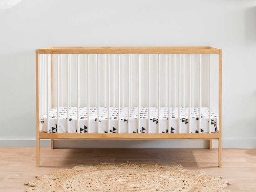 Darby Cot - Natural/White