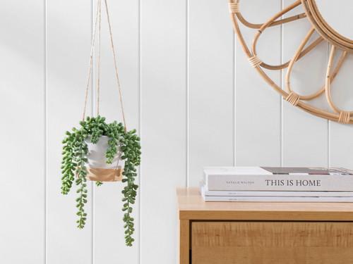 Hanging Pea Succulent Artificial Plant
