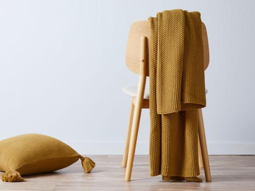 Esther Throw - Mustard