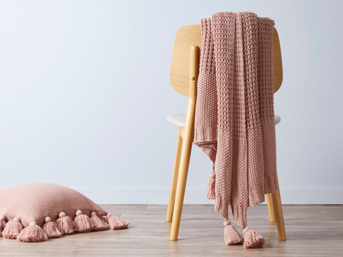 Clementine Throw - Rose