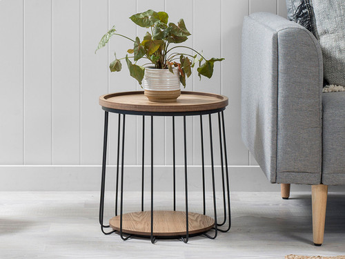Tennyson Side Table - Black - Small
