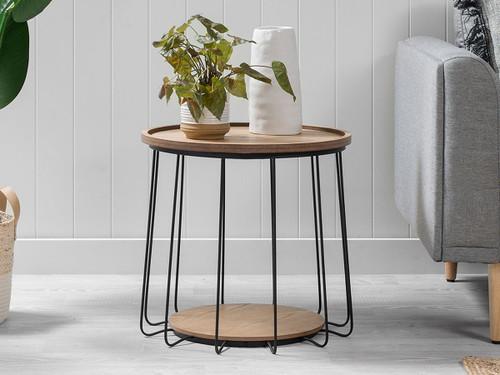 Tennyson Side Table - Black - Large