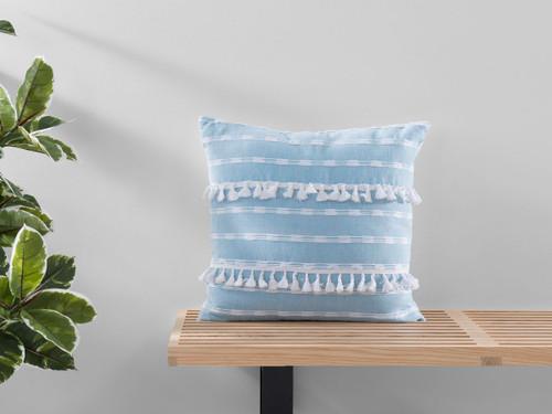 Bria Cushion Cover - Square - Blue