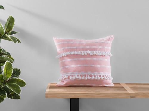 Bria Cushion Cover - Square - Pink