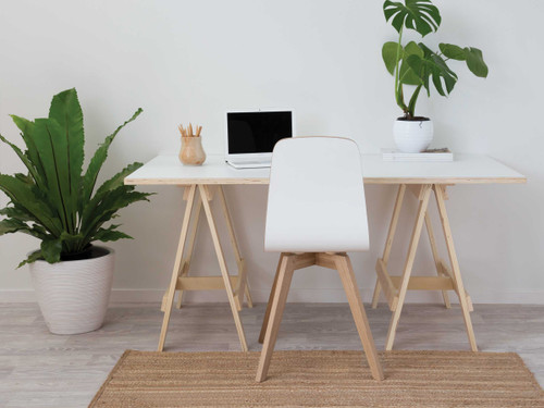 Laminate Trestle Desk