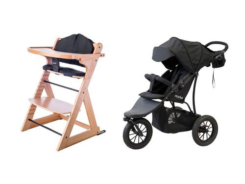 Highchair + Stroller Package