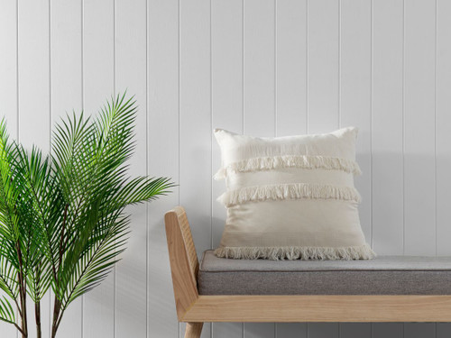 Isabella Cushion Cover - Biscuit
