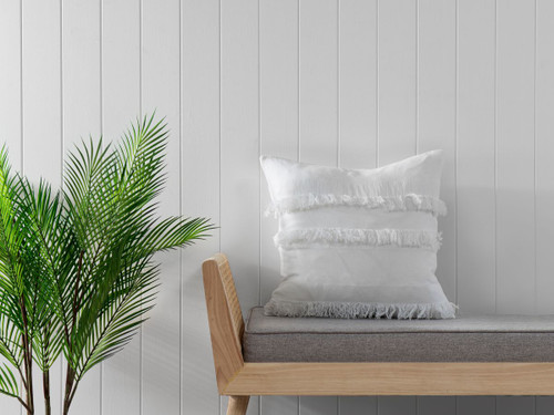 Isabella Cushion Cover - White