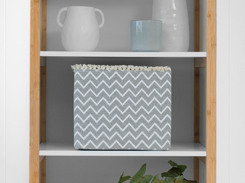 Chevron Square Basket