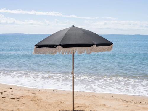 Mocka Classic Black Beach Umbrella
