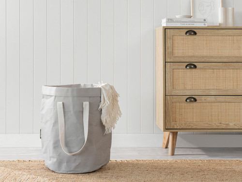 Etta Laundry Hamper - Grey