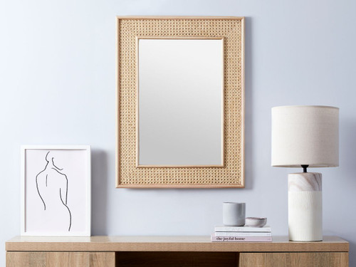 Southport Rattan Mirror - Rectangle