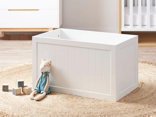 Hamptons Toy Box - White
