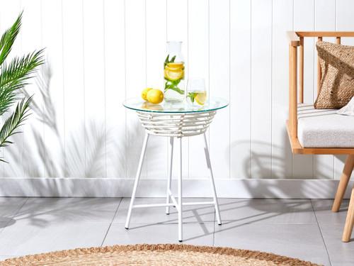 Honolulu Side Table - White