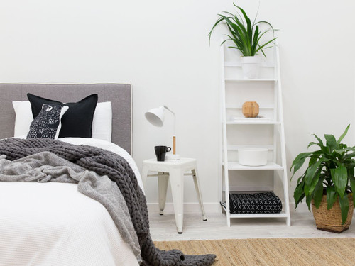 Ladder Shelf - White