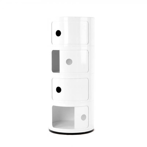 Mocka Post Box 4 - White