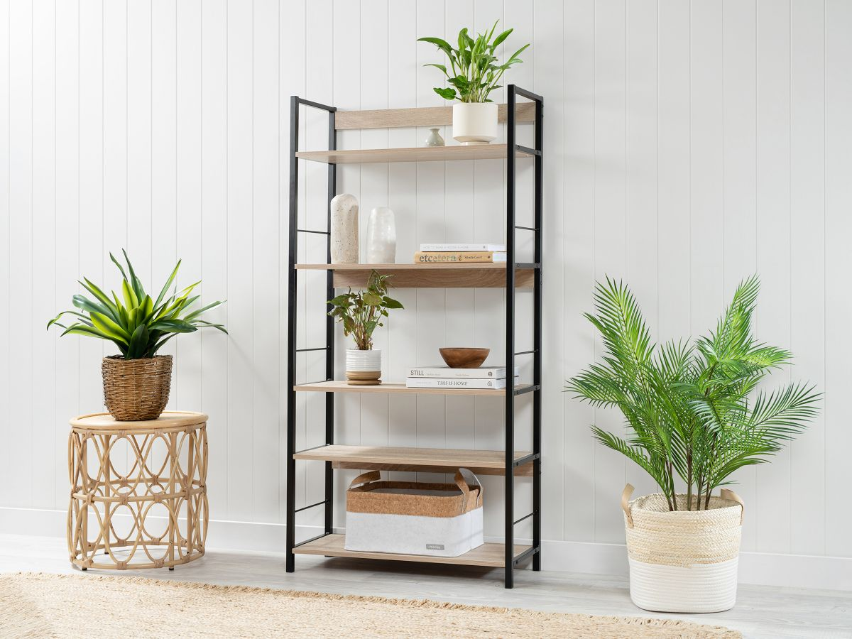 Vigo Shelves - Wide - Black
