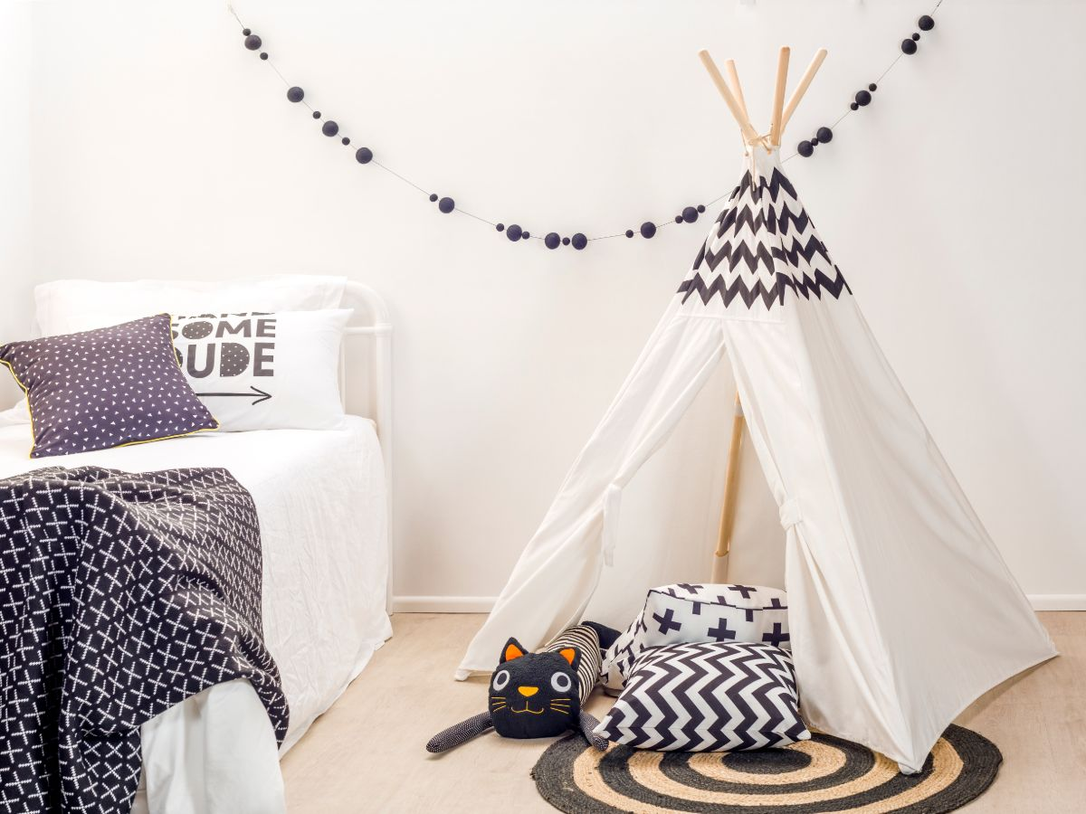 Piccolo Kids Teepee - Chevron