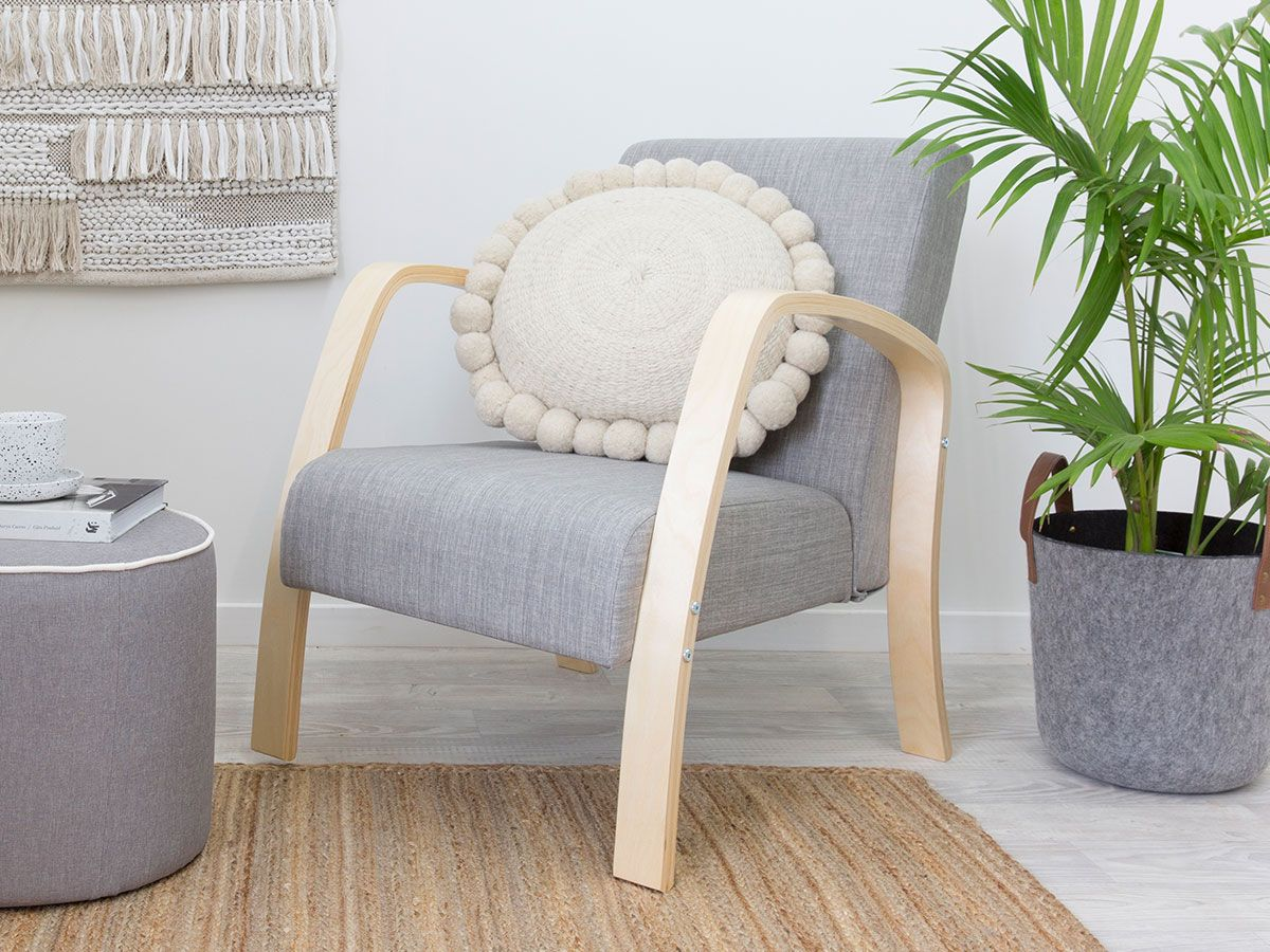 Britta Armchair - Grey