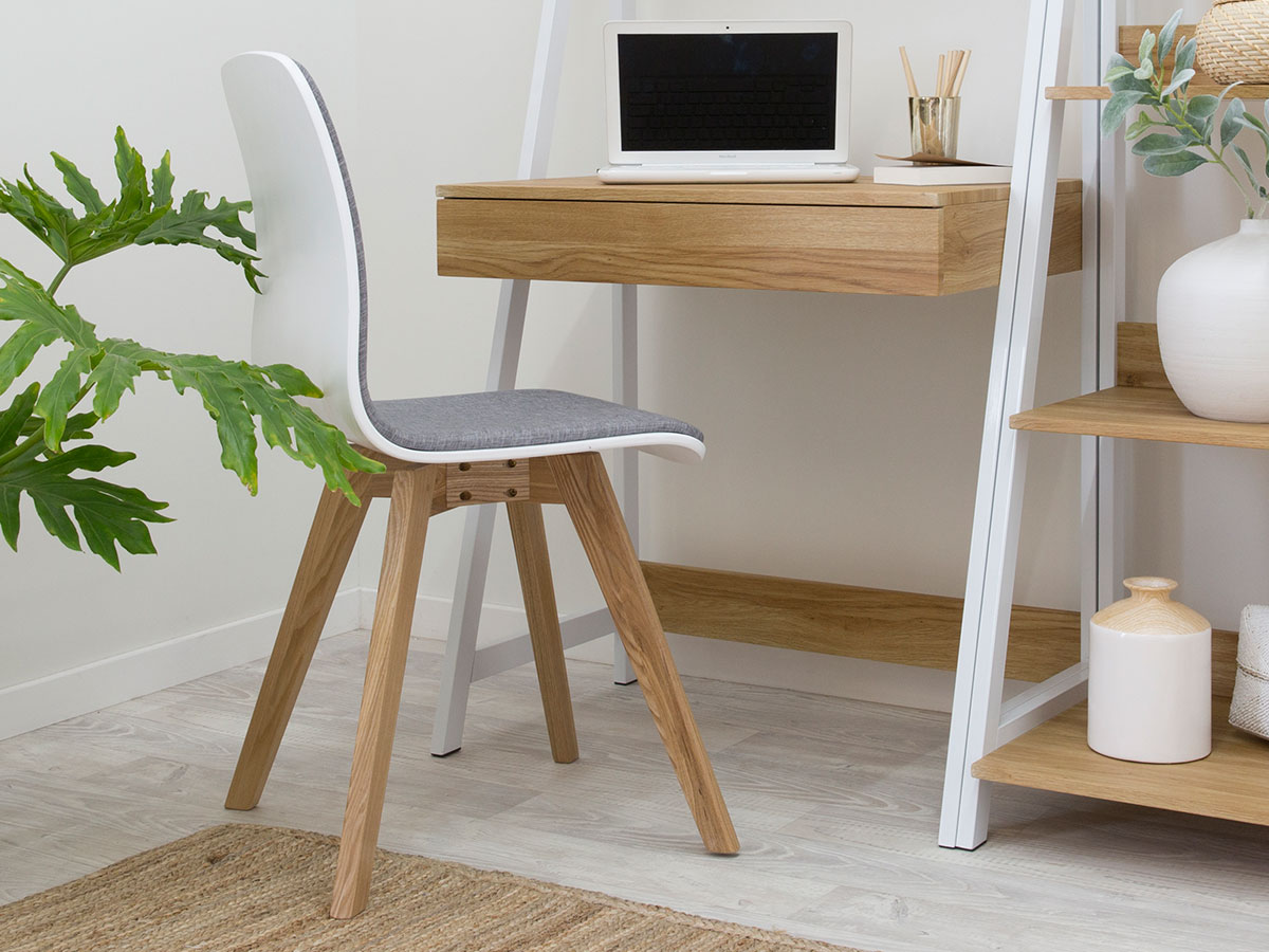 Austin Chair - Grey / White