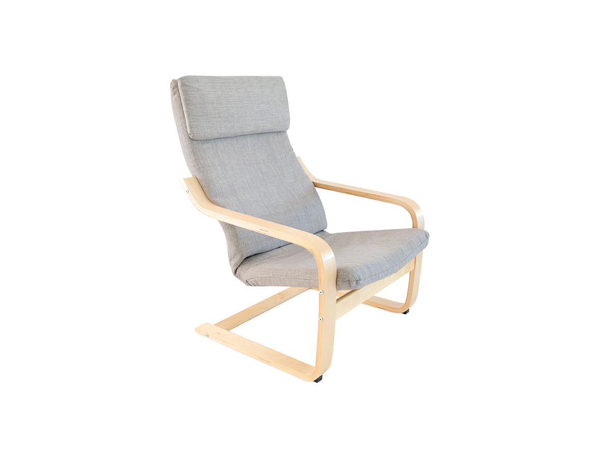Asta Armchair Cover - Grey