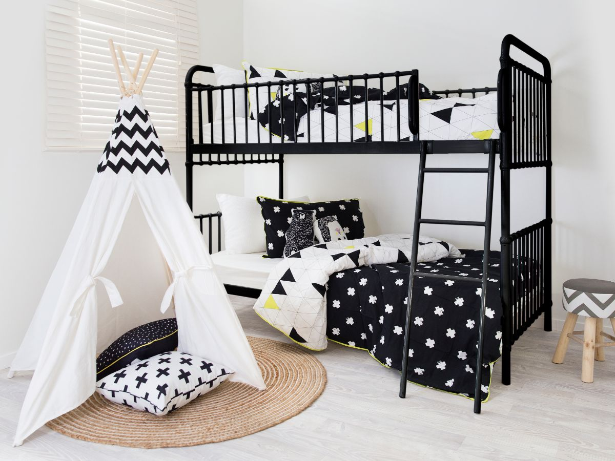 Sonata Bunk Bed - Black