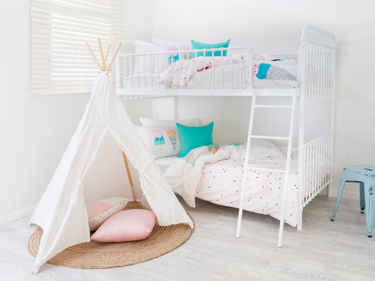 Sonata Bunk Bed - White
