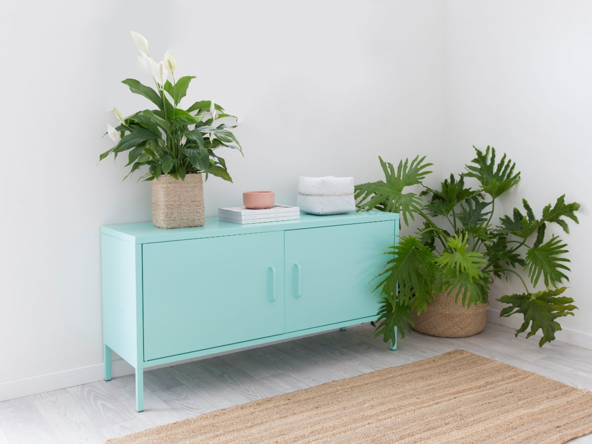 Locka Console Table - Mint