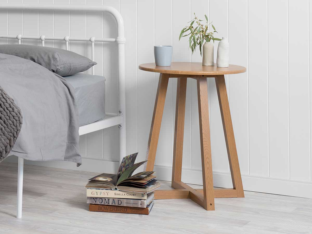 Avalon Side Table - Natural