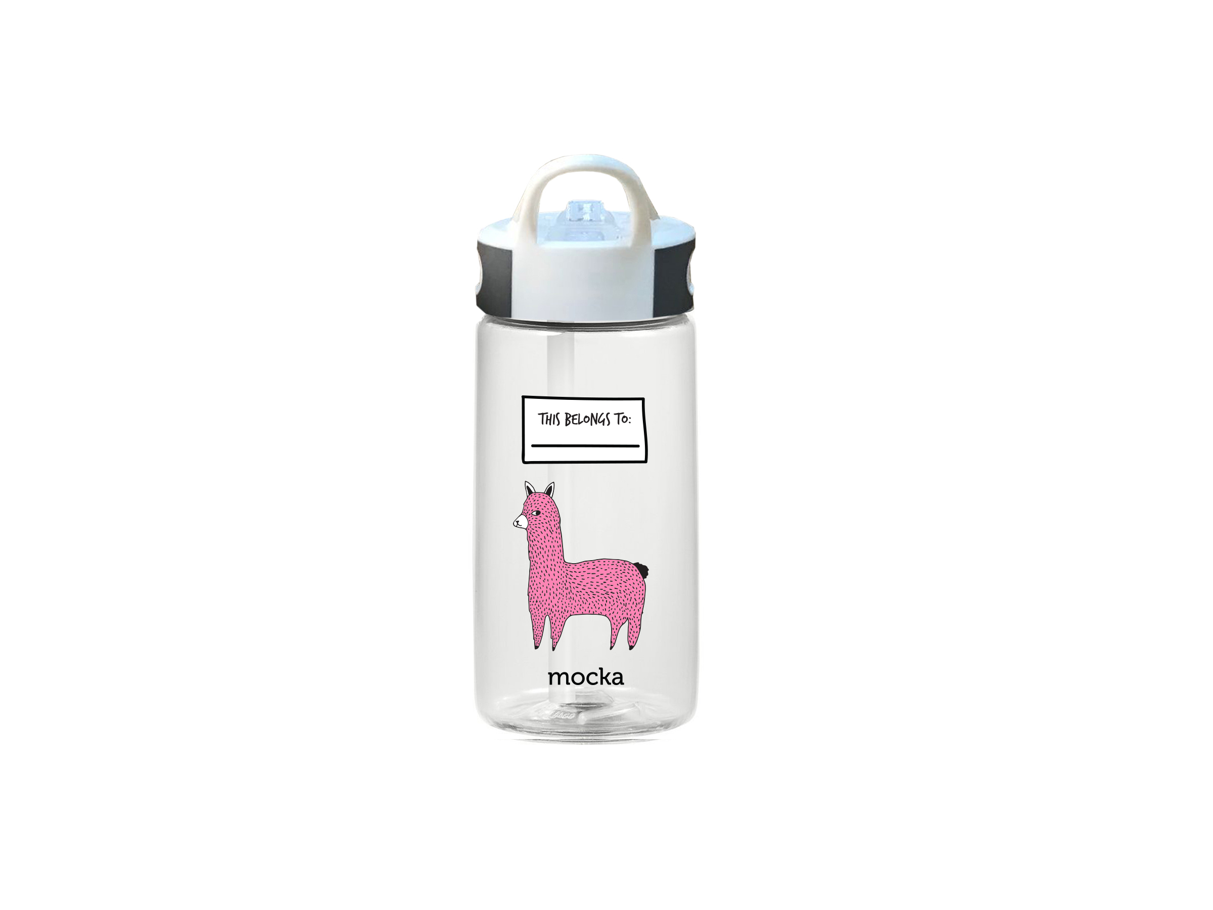 Kids Drink Bottle - Llama