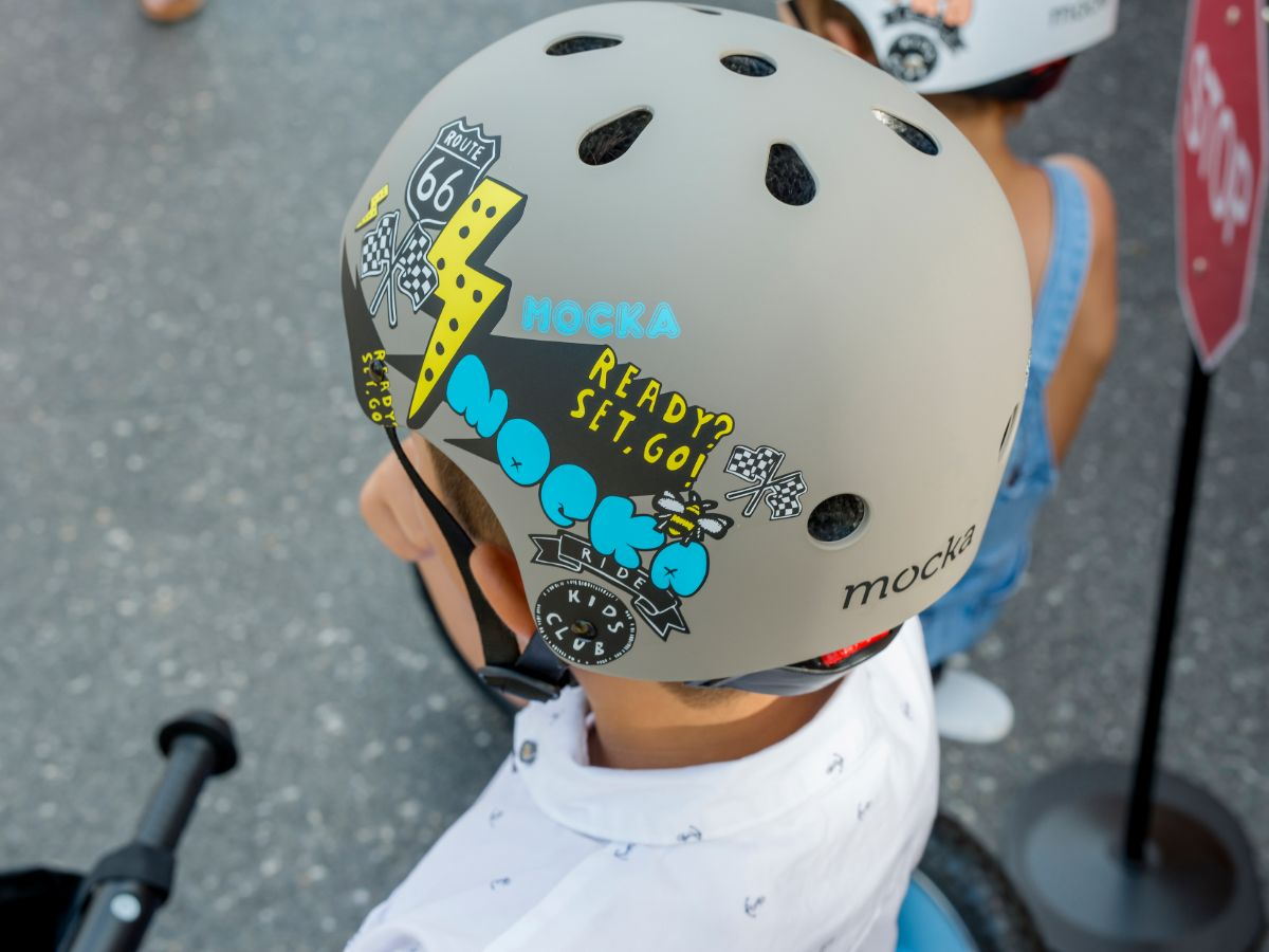 Kids Helmet - Grey