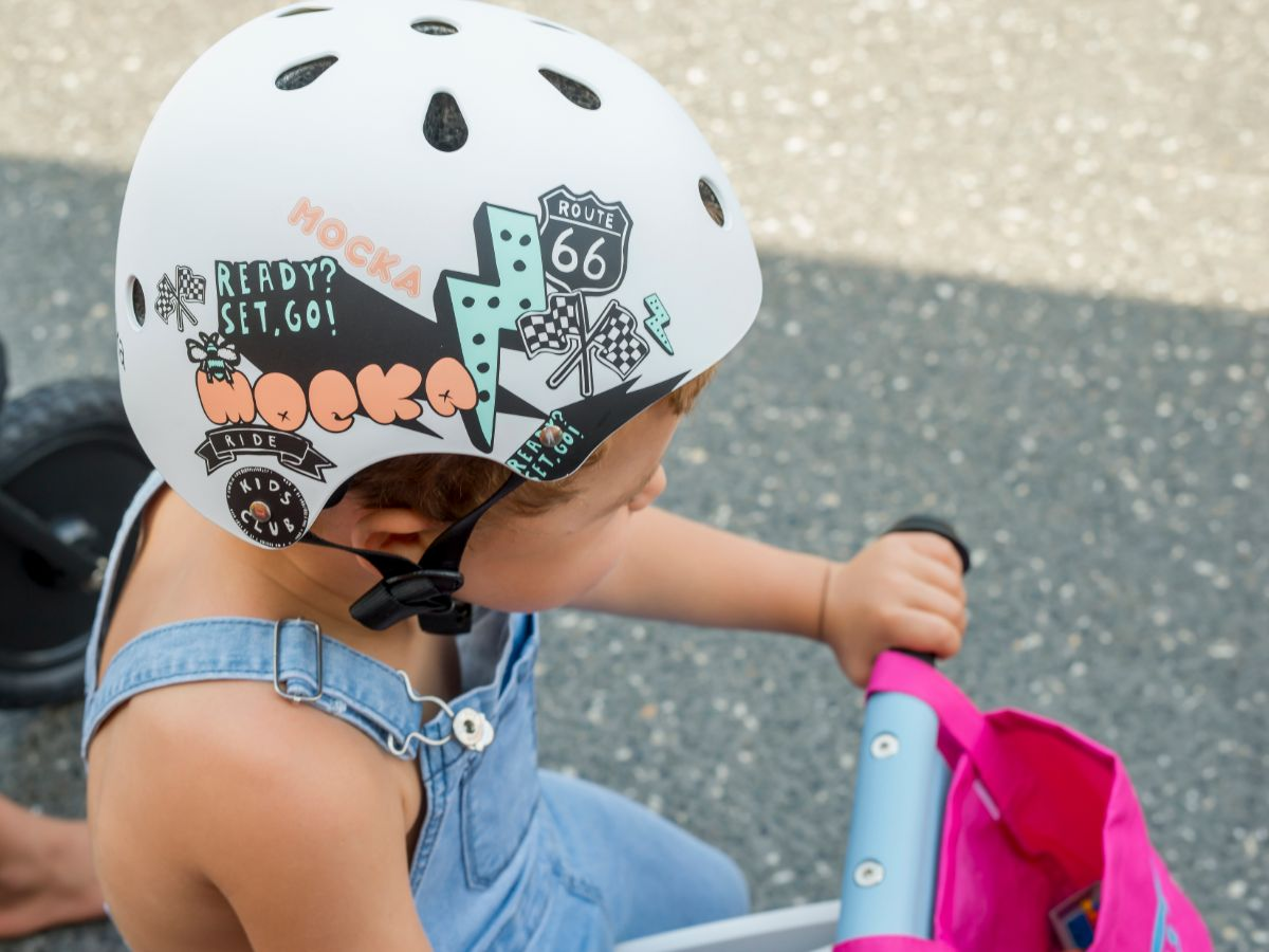 Kids Helmet - White