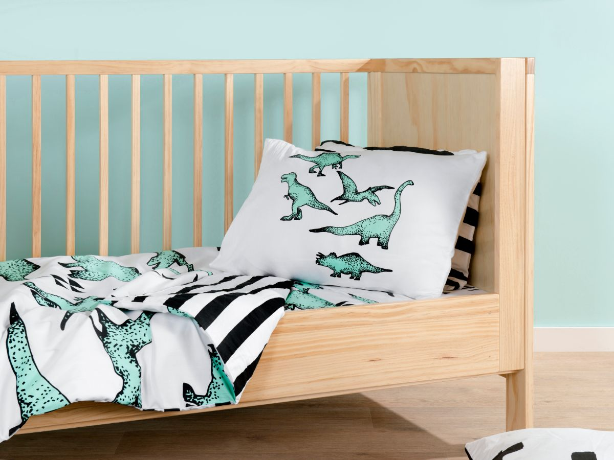 Dinosaur Cot Quilt Cover Set