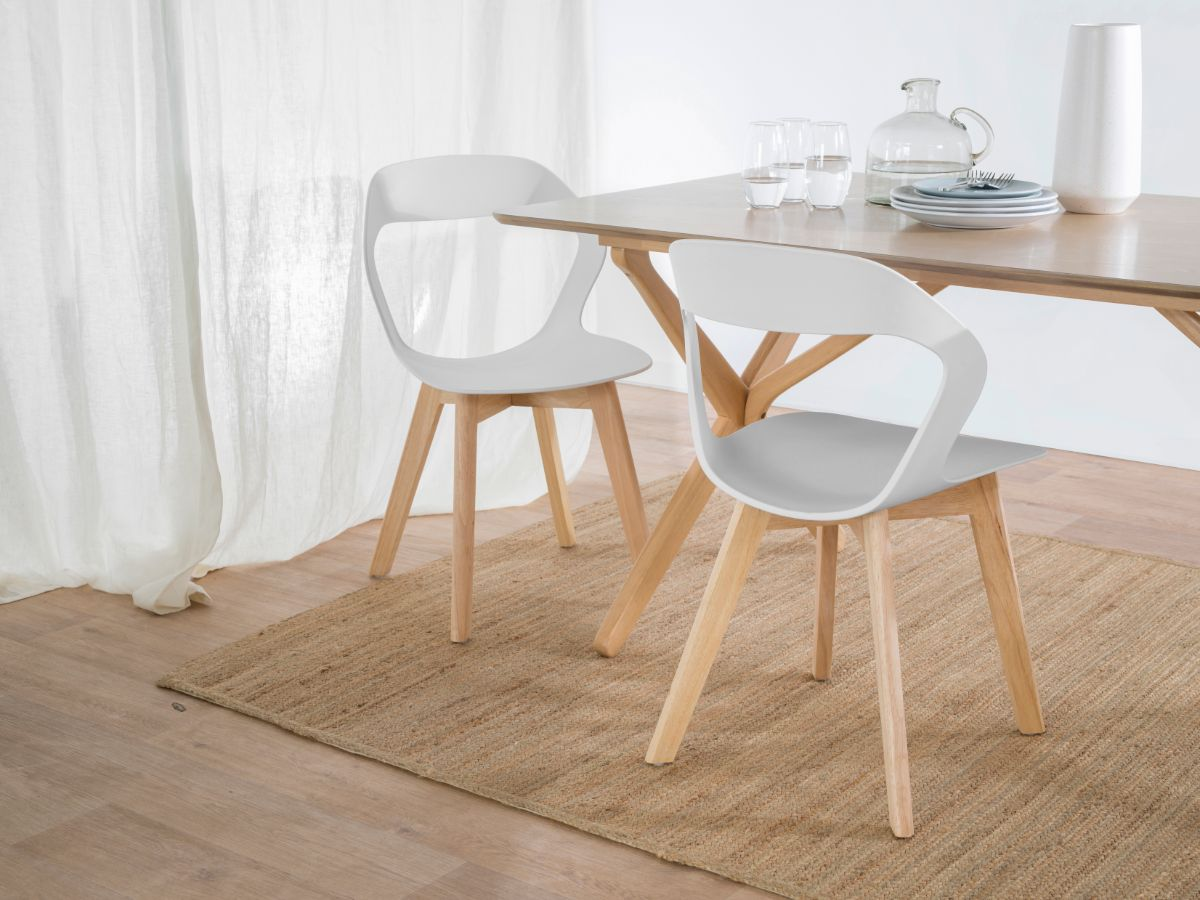 Jasper Dining Chair - White