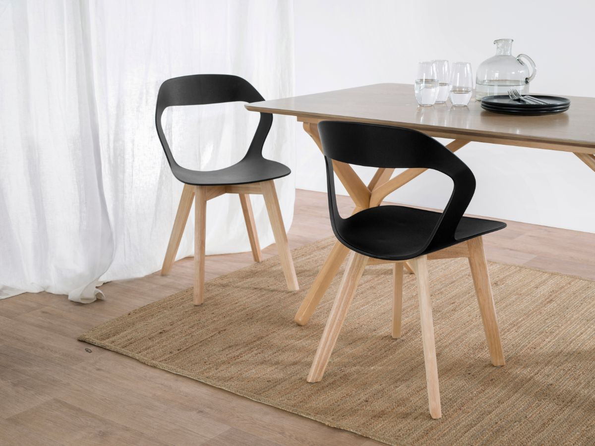 Jasper Dining Chair - Black