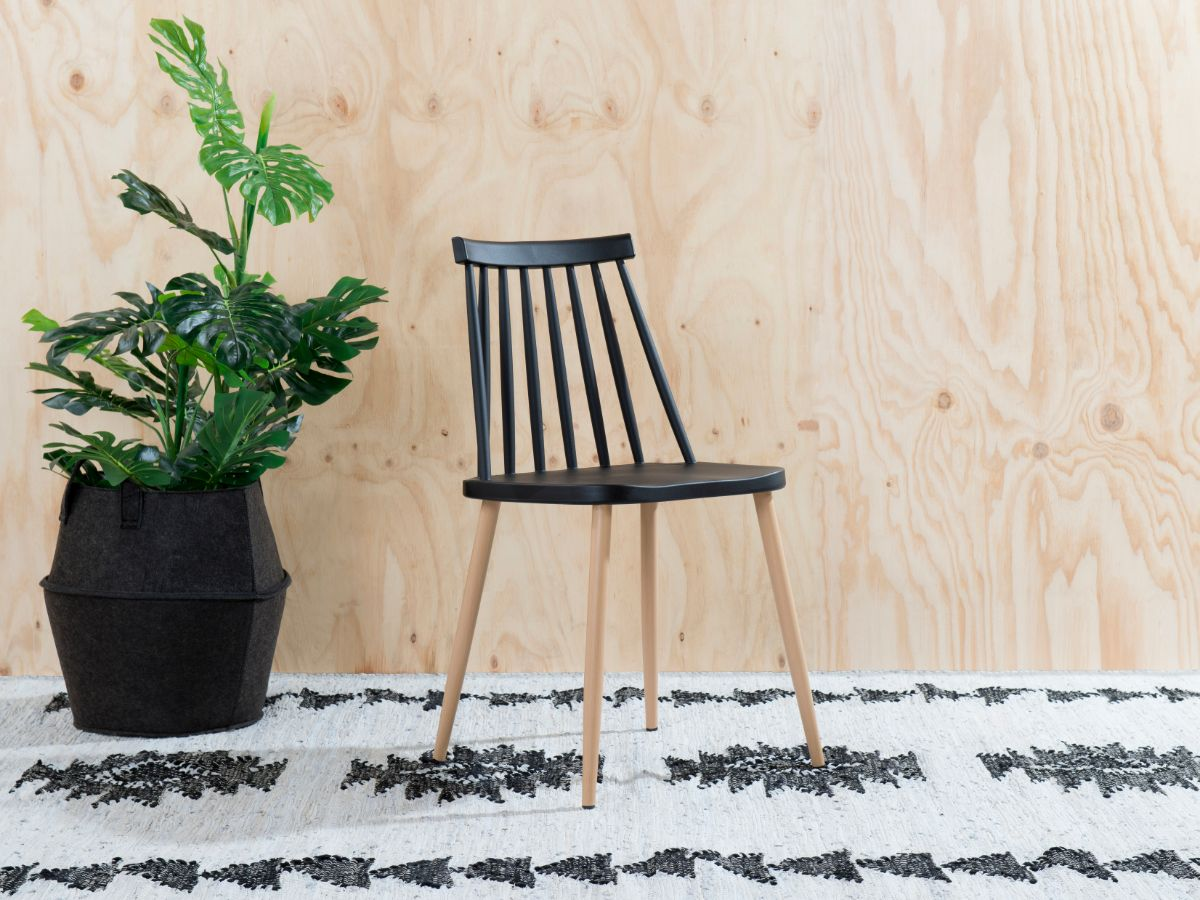 Flynn Dining Chair - Black