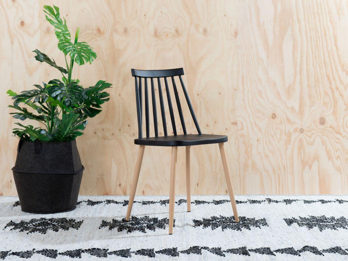 Flynn Dining Chair - Black