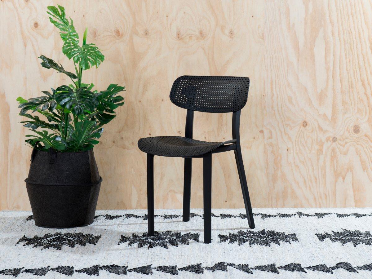 Mila Dining Chair - Black
