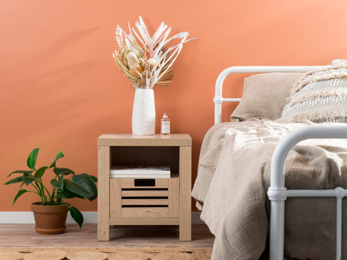 Asha Bedside Table