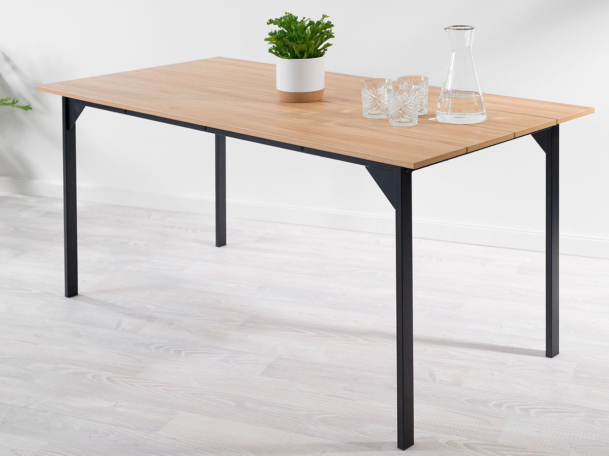 Porto Dining Table - Black