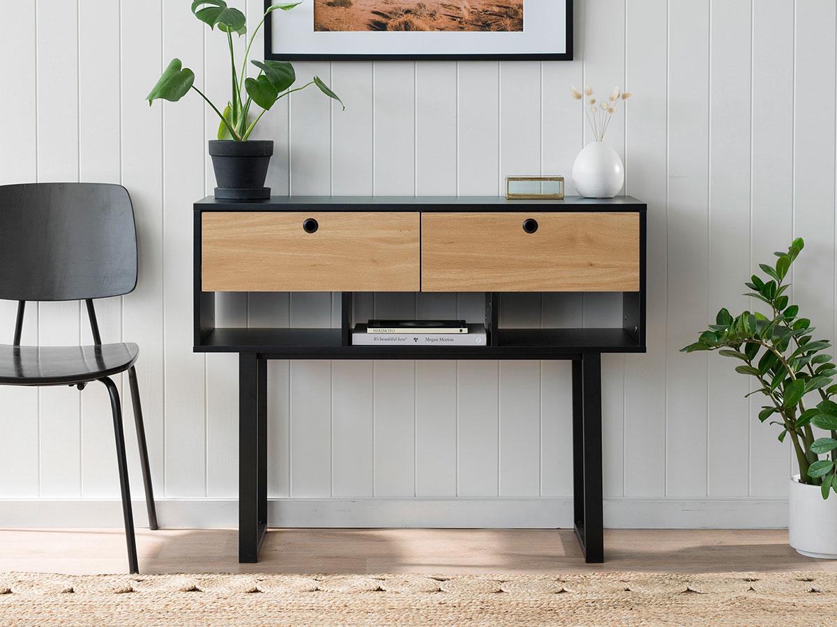 Parker Console Table - Black