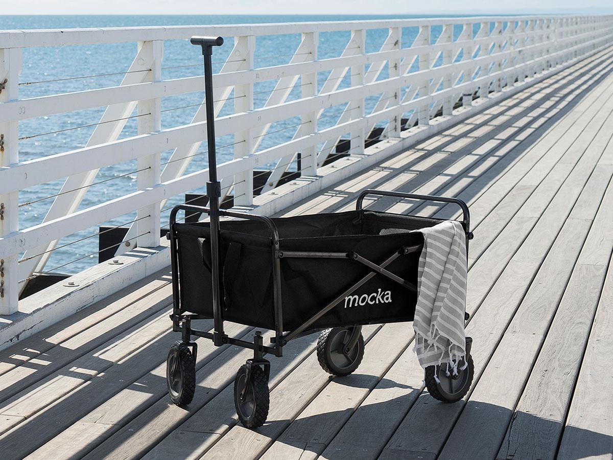 Mocka Beach Cart - Black
