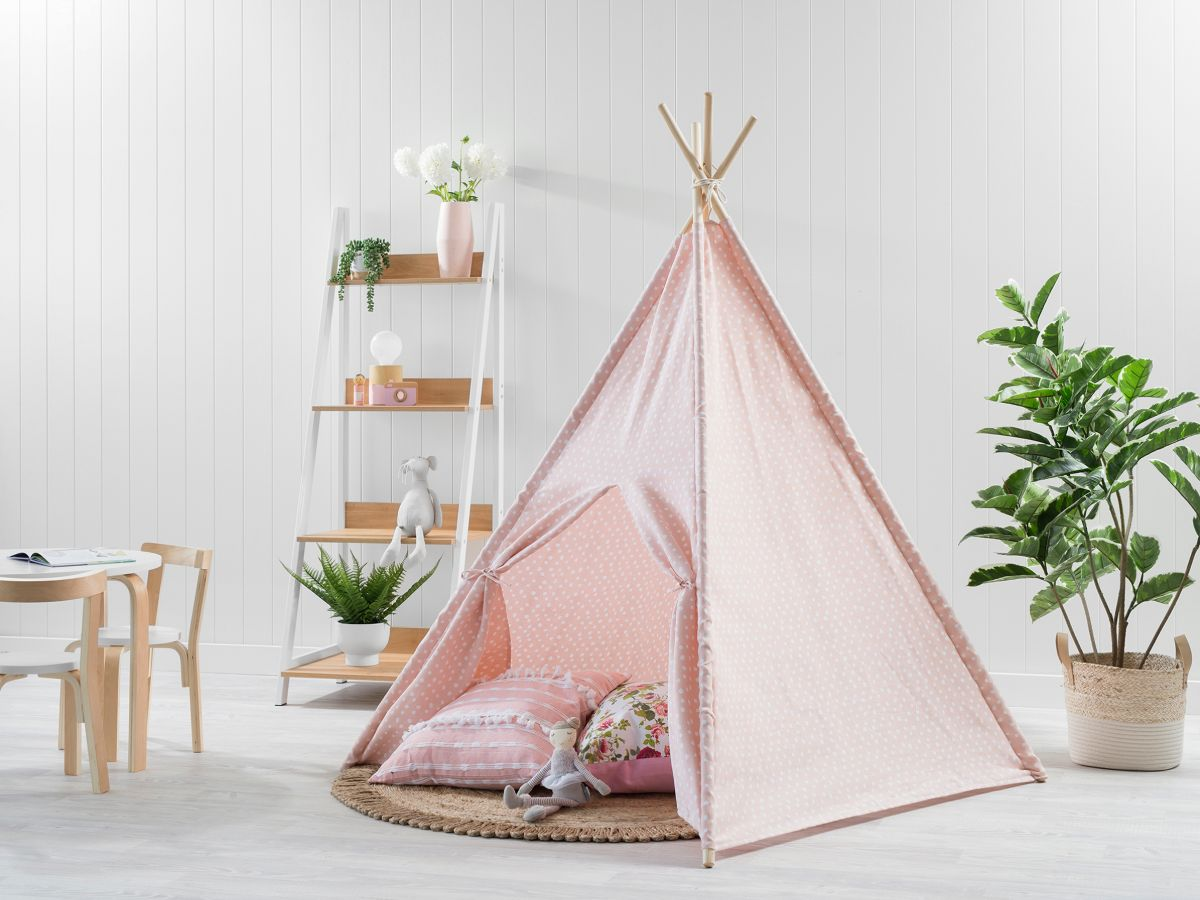 Spots Teepee - Light Pink