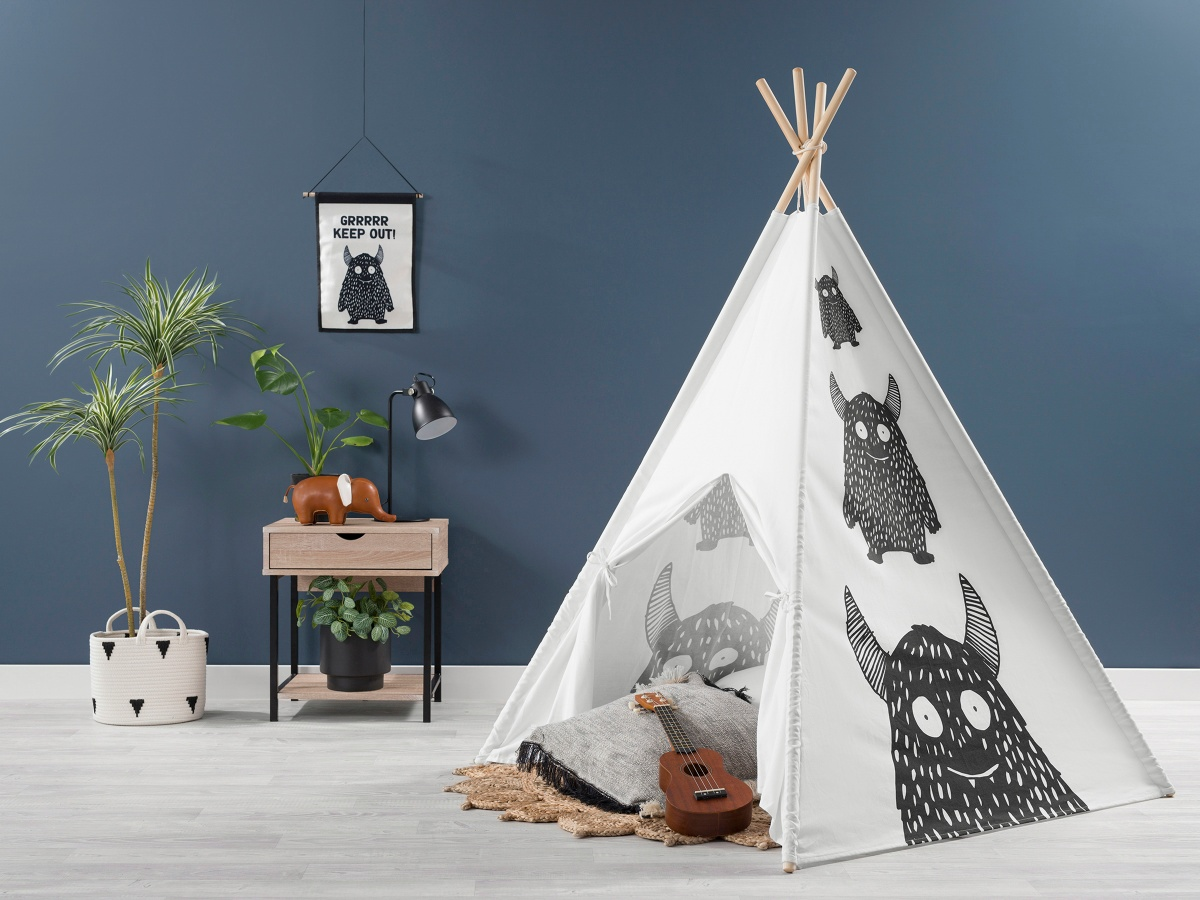 Henley Teepee - Little Monster