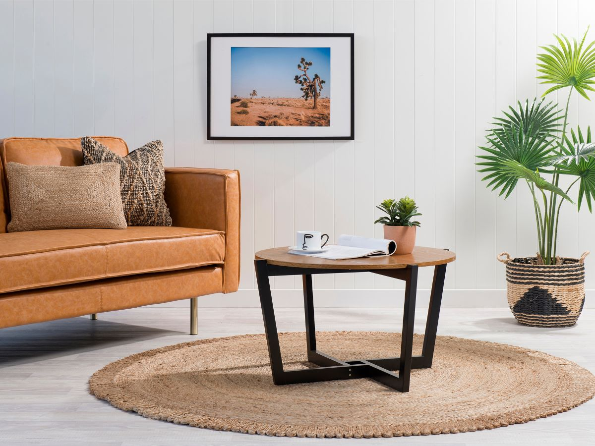 Ellwood Coffee Table - Natural/Black