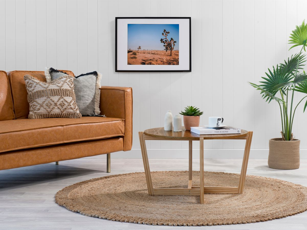 Ellwood Coffee Table - Natural/Natural