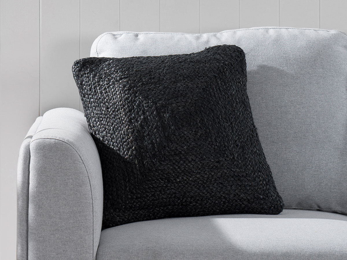 Buddina Cushion Cover - Square - Black
