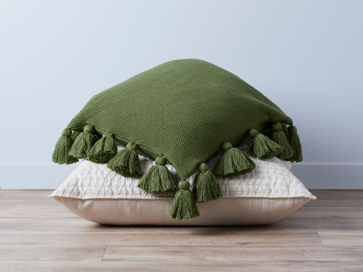 Clementine Cushion Cover - Sage