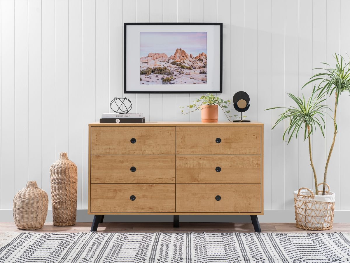Kirra Six Drawer