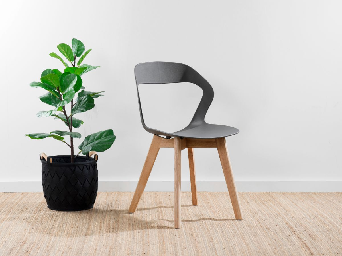 Jasper Dining Chair - Grey/Light